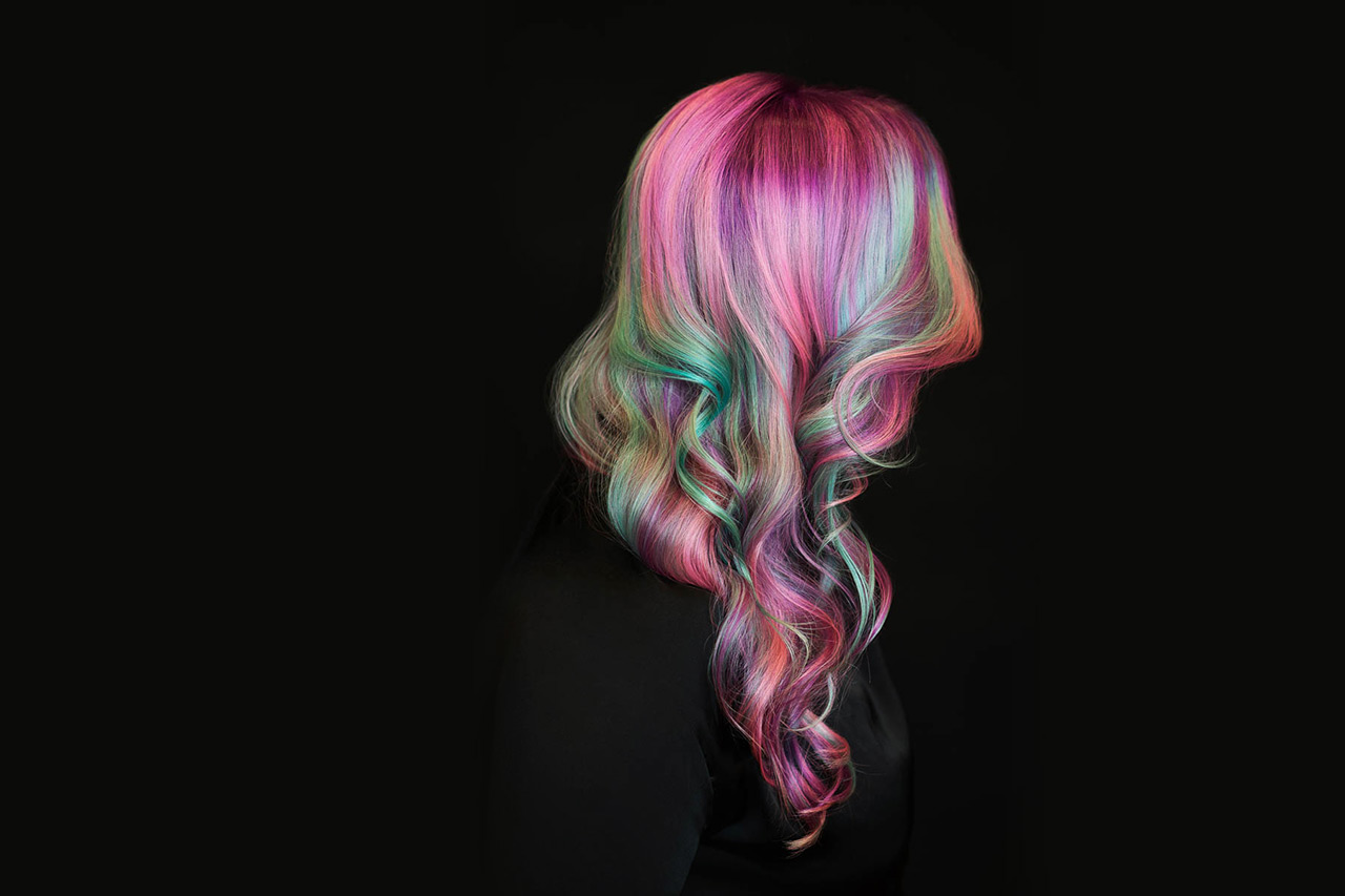 TOM|CO. Post #1 Rainbow Haare